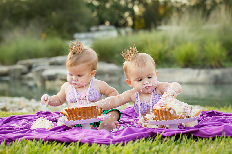Twins-Cake-Smash-Photography-Cypress